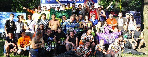 Второй этап Кубка Украины по пейнтболу