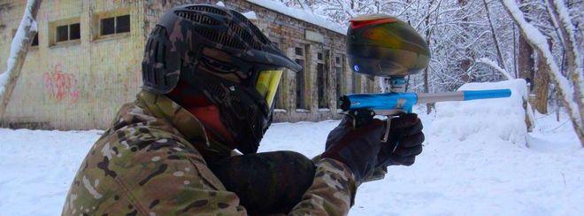Фото - Как играть в пейнтбол зимой