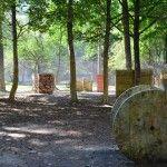 Пейнтбольная площадка Деревня (лето)