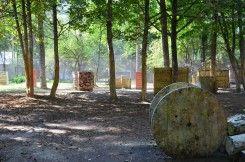 Пейнтбольная площадка Деревня - фото 01
