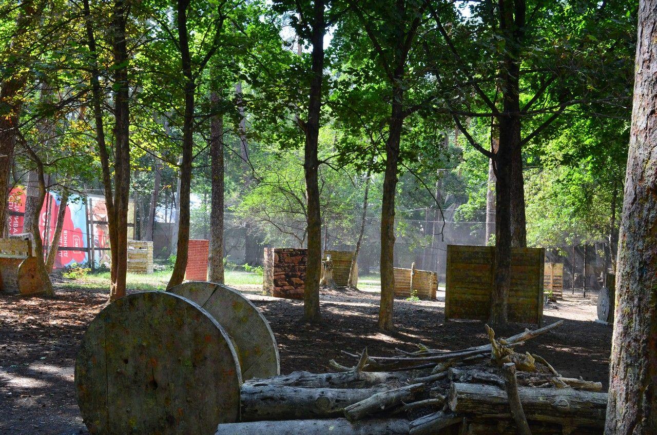 Пейнтбольная площадка Деревня (лето) - фото 04