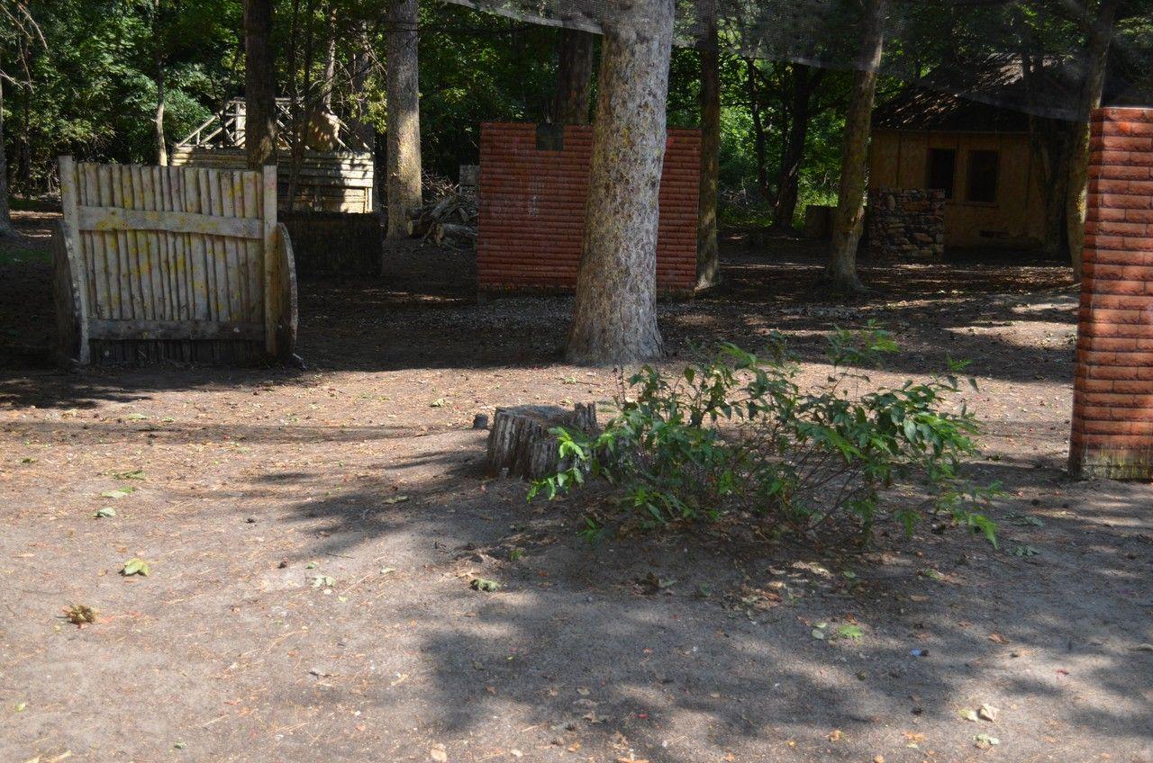 Пейнтбольная площадка Деревня (лето) - фото 05