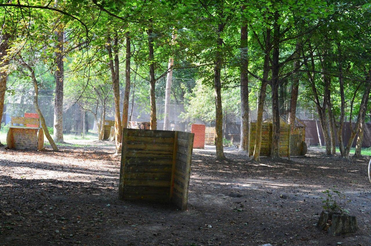 Пейнтбольная площадка Деревня (лето) - фото 07