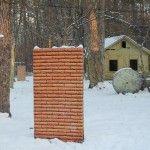 Пейнтбольная площадка Деревня (зима) - фото 01