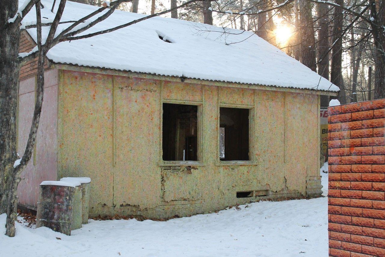 Пейнтбольная площадка Деревня (зима) - фото 04