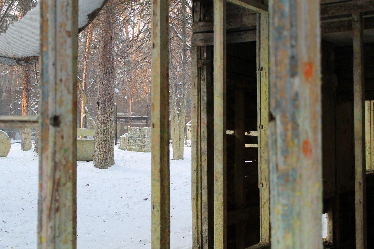 Пейнтбольная площадка Деревня (зима) - фото 05