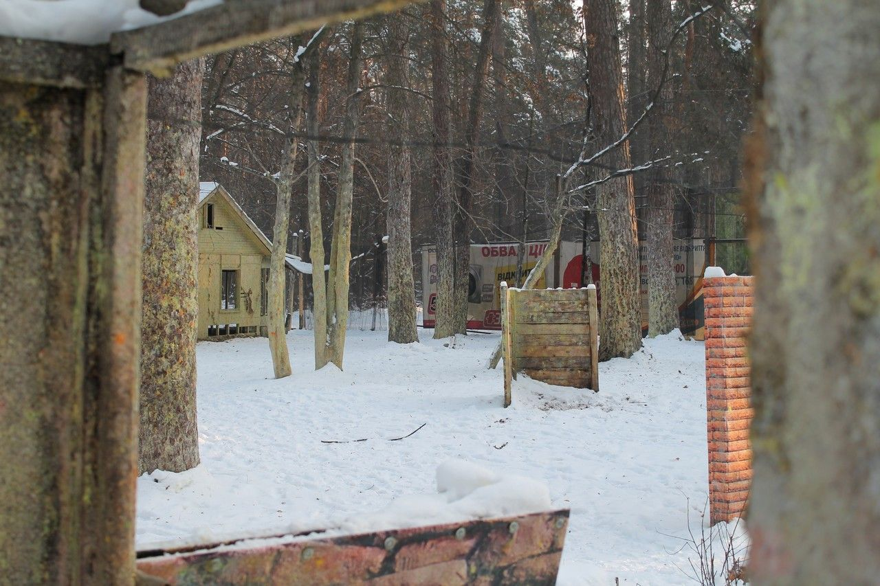 Пейнтбольная площадка Деревня (зима) - фото 11