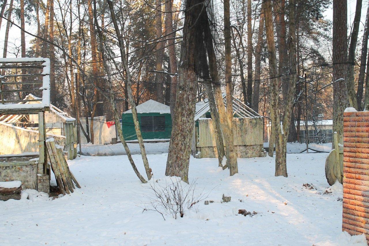 Пейнтбольная площадка Деревня (зима) - фото 13