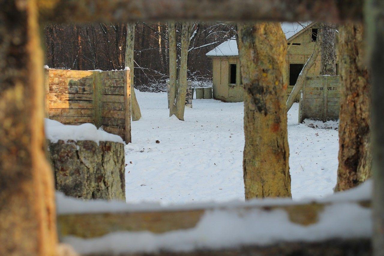Пейнтбольная площадка Деревня (зима) - фото 14