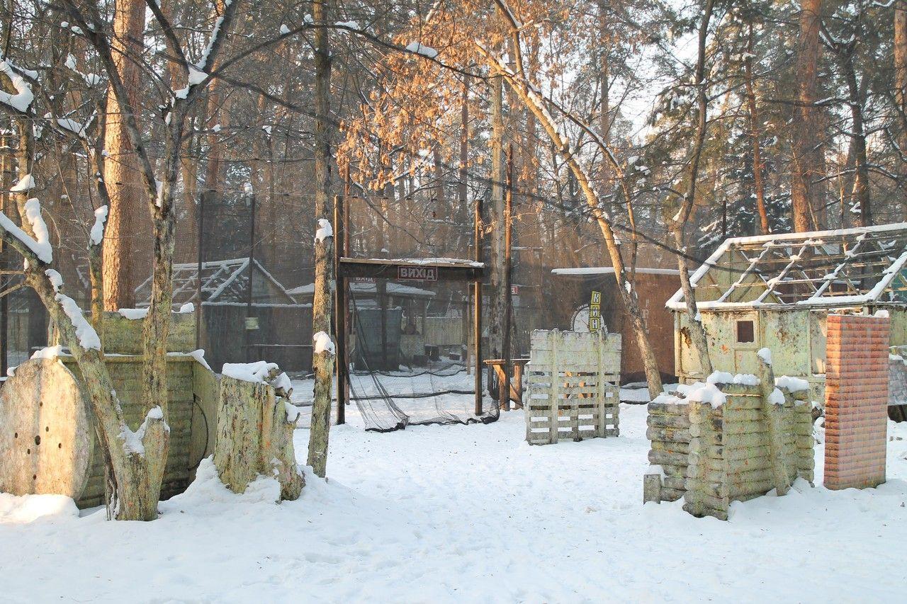 Пейнтбольная площадка Деревня (зима) - фото 15