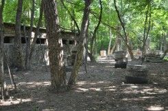 Пейнтбольная площадка Котельня (лето)