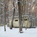 Пейнтбольная площадка Котельня (зима)