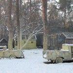 Пейнтбольная площадка Машины (зима)