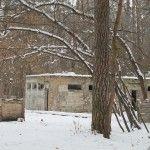 Пейнтбольная площадка Партизанская (зима)