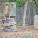 Пейнтбольная площадка Вышки (лето)