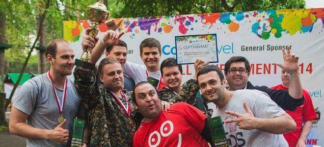 """Победители пейнтбольного турнира """"SHOOTERS"""" в Турции"""