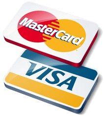 Принимаем к оплате пластиковые карты