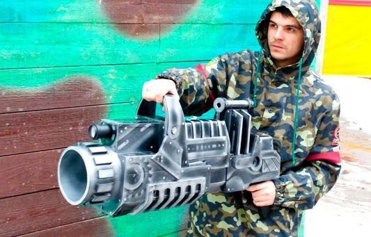 Супер-пушка для лазертага